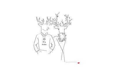 J Milena, souvenir, famille, noël, Provence, Illustration, Marseille, Sud, France, personnalisation, textile, croquis, dessin