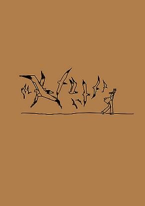 Ale, souhaitait mettre des lignes sur un dessin de Corto Maltese, pour créer son tatouage