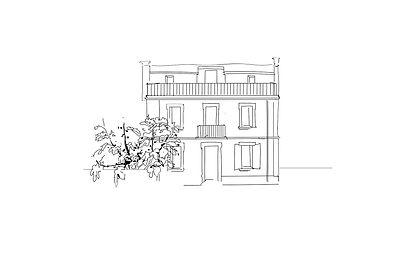 J Milena, Le Figuier, Provence, Illustration, Marseille, Sud, France, personnalisation, textile, croquis