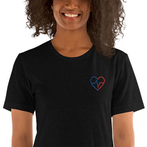 BLM Embroidered T-Shirt