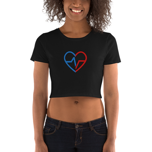 BLM Cropped Tee