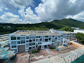 HKUST Wong Cheuk She Facade - Clearwater