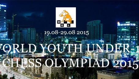 Отборочный турнир для участия во Всемирной Олимпиаде по шахматам среди юношей до 16 лет
