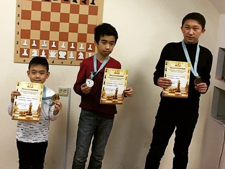 Kim Igor won category tournament for the 2nd degree!