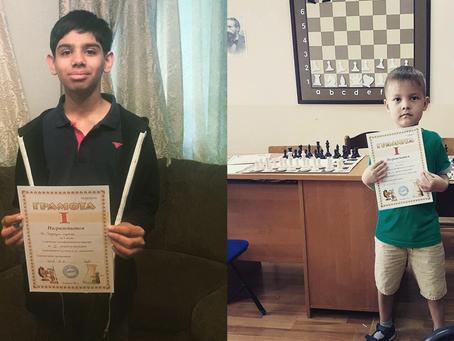 Asylbek Nurasyl and Aditya De Chaudhuri are Champions!