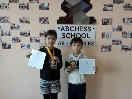 Almaty Youth Rapid Chess Championships. Results of our students