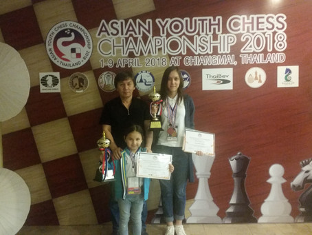 Asian Youth Chess Championships - 2018!