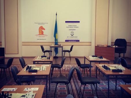 """Турнир с обсчетом рейтинга ФИДЕ """"Chess in Almaty - 2"""""""