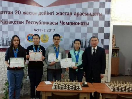 Bronze medalist of national championship among girls U20