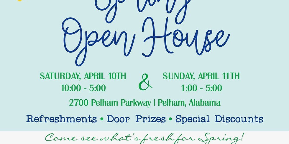 Myrtle Jane's South Spring Open House