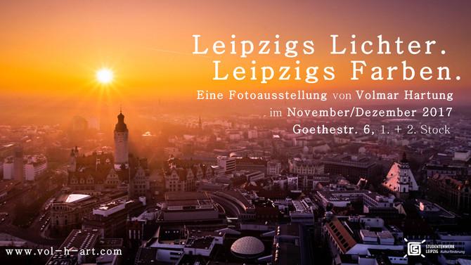 """Ab sofort: """"Leipzigs Lichter. Leipzigs Farben."""" - Neue Ausstellung im Studentenwerk Leipzi"""