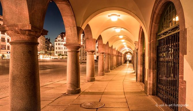 Tag und Nacht in Leipzig