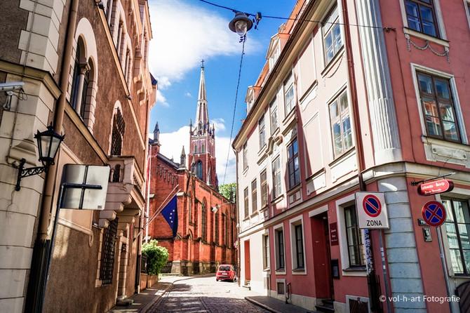 Riga - Das Baltikum entdeckend