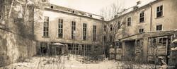 Ehemalige sowjetische Kaserne