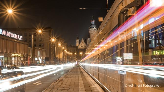 Winterliches Leipzig ohne Schnee
