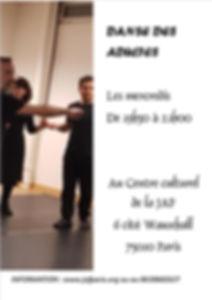 cours de danse armeniene pou adultes