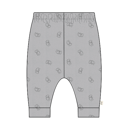 Printed Baby Bootie Pant