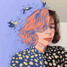 Self Portrait - Half Toon Me