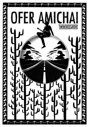 Music Poster - Ofer Amichai
