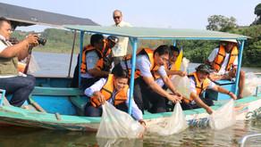 Hingga Agustus KKP Restocking 14, 2 Juta Ikan