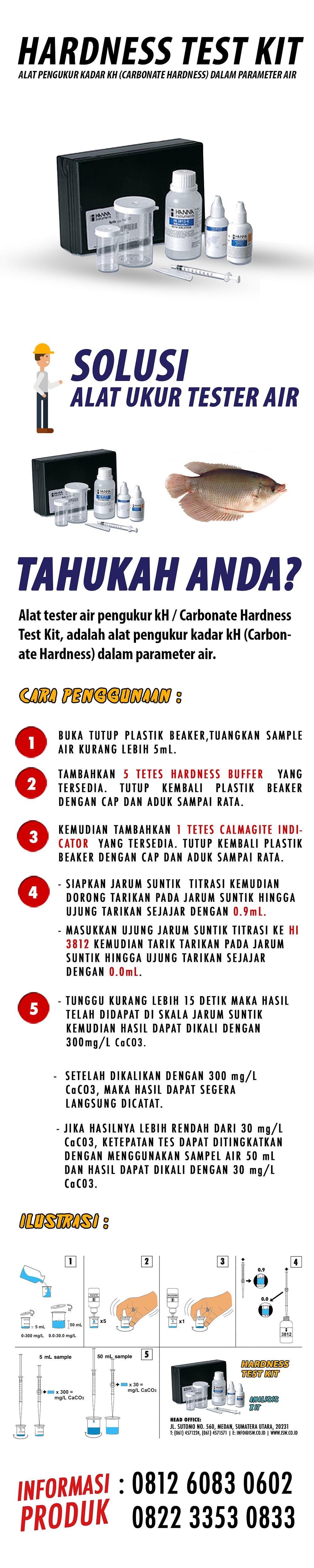 jual hardness air kit