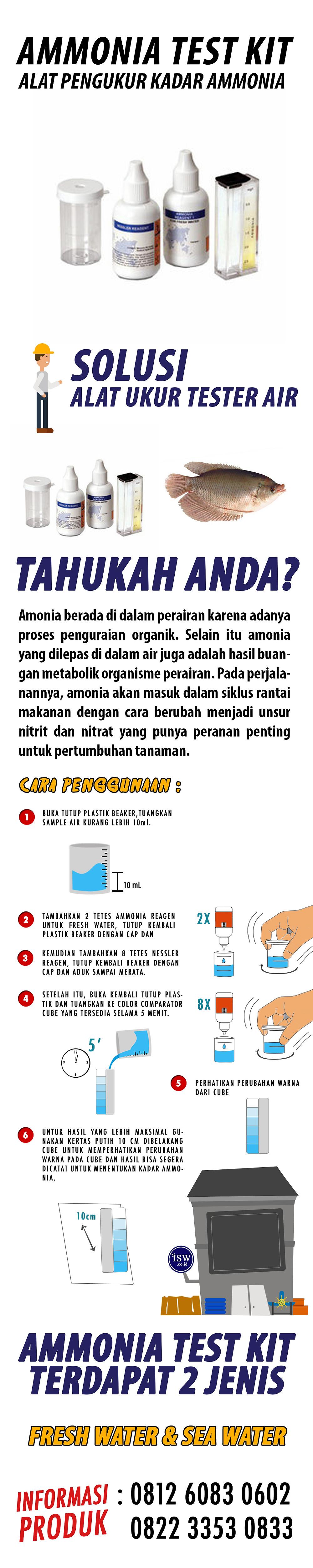 jual Ammonia Test Kit