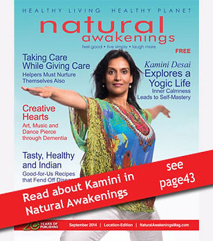 Kamini Desai in Natural Awakenings magazine