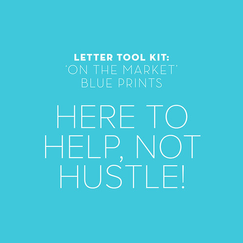 Targeting On the Markets: Here to help, not HUSTLE!