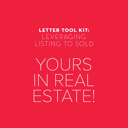 Leveraging Listing to Sold: Yours in Real Estate