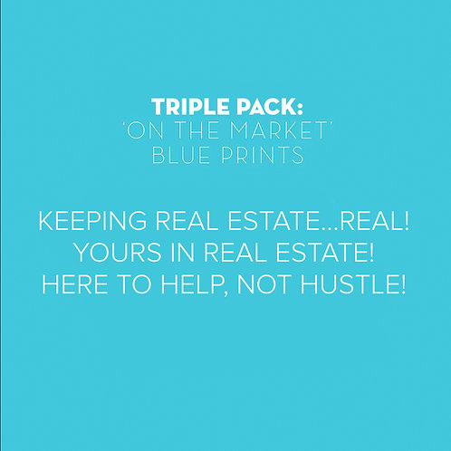 Triple Pack: Targeting 'On the Markets', Blue Prints