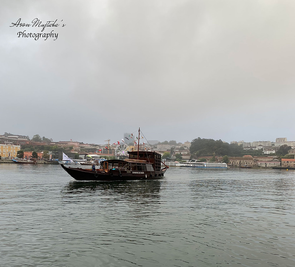 Douro River Ferry in Porto, Portugal