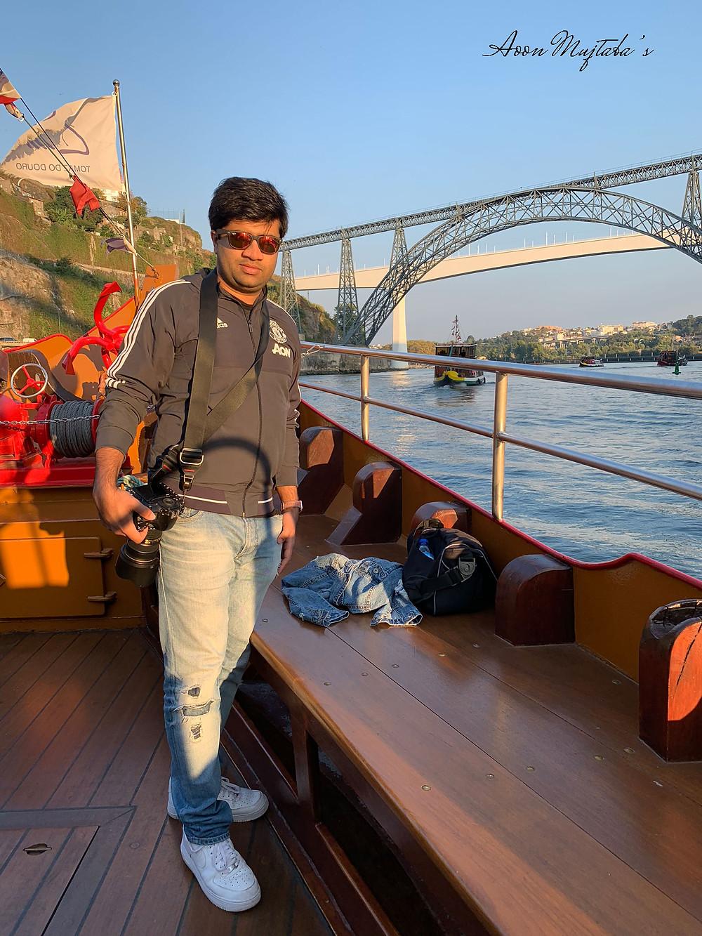 Cruise in Douro River in Porto, Portugal