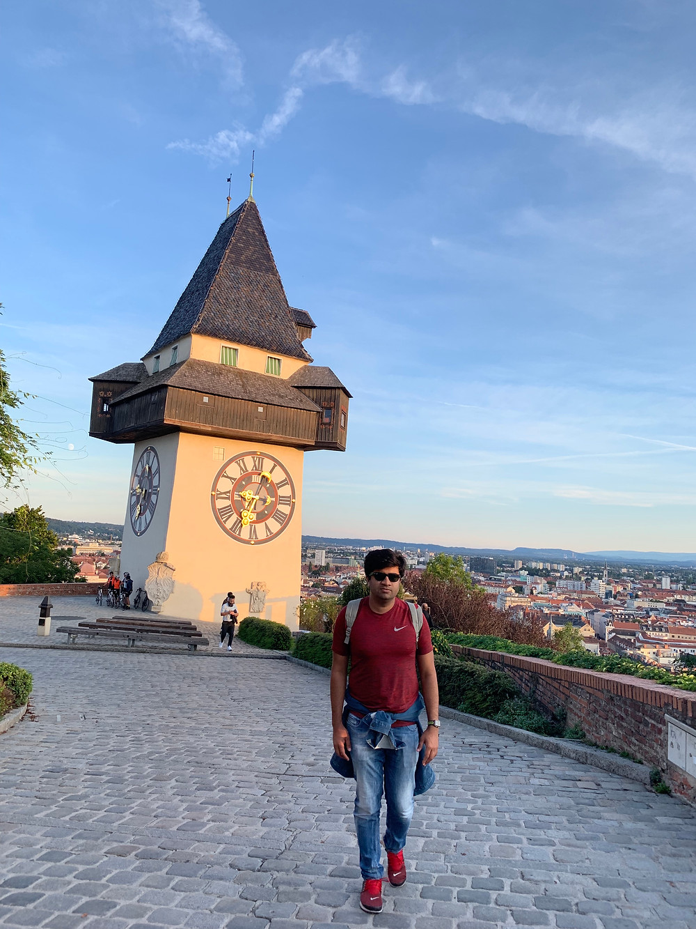 Uhr Turm (Clock Tower) in Graz, Austria