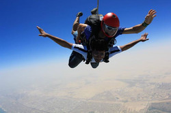 Sky Diving in Dubai, UAE