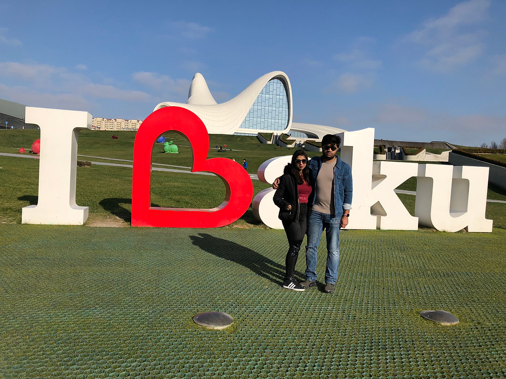 I Love Baku, Baku, Azerbaijan