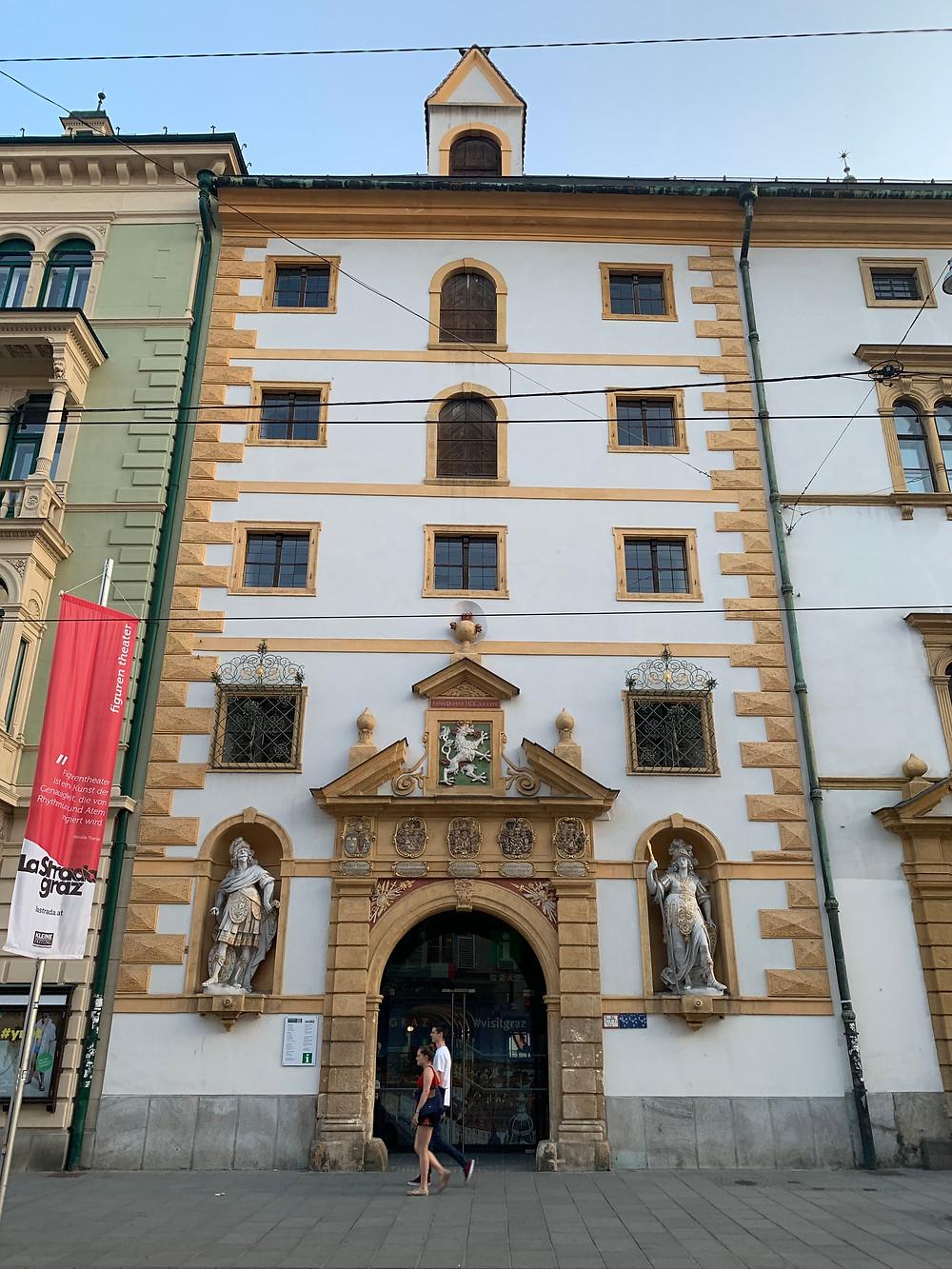 Landeszeughaus in Graz, Austria