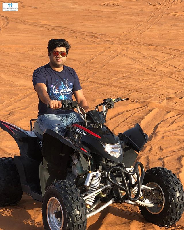 When in Dubai, Quad Biking is a Must !!_