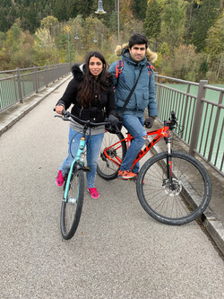 Cycling in Bavarian Alps, Germany
