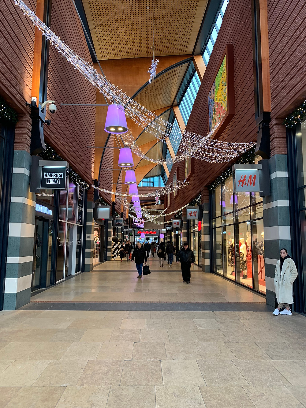 Shopping Mall in Enschede, Netherlands