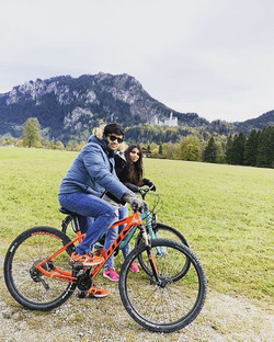 Cycling in Bavaria, Germany