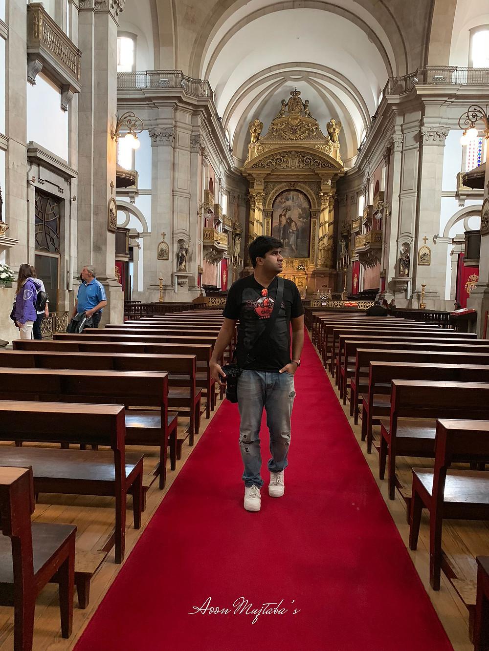 Santissima Trindade in Porto, Portugal