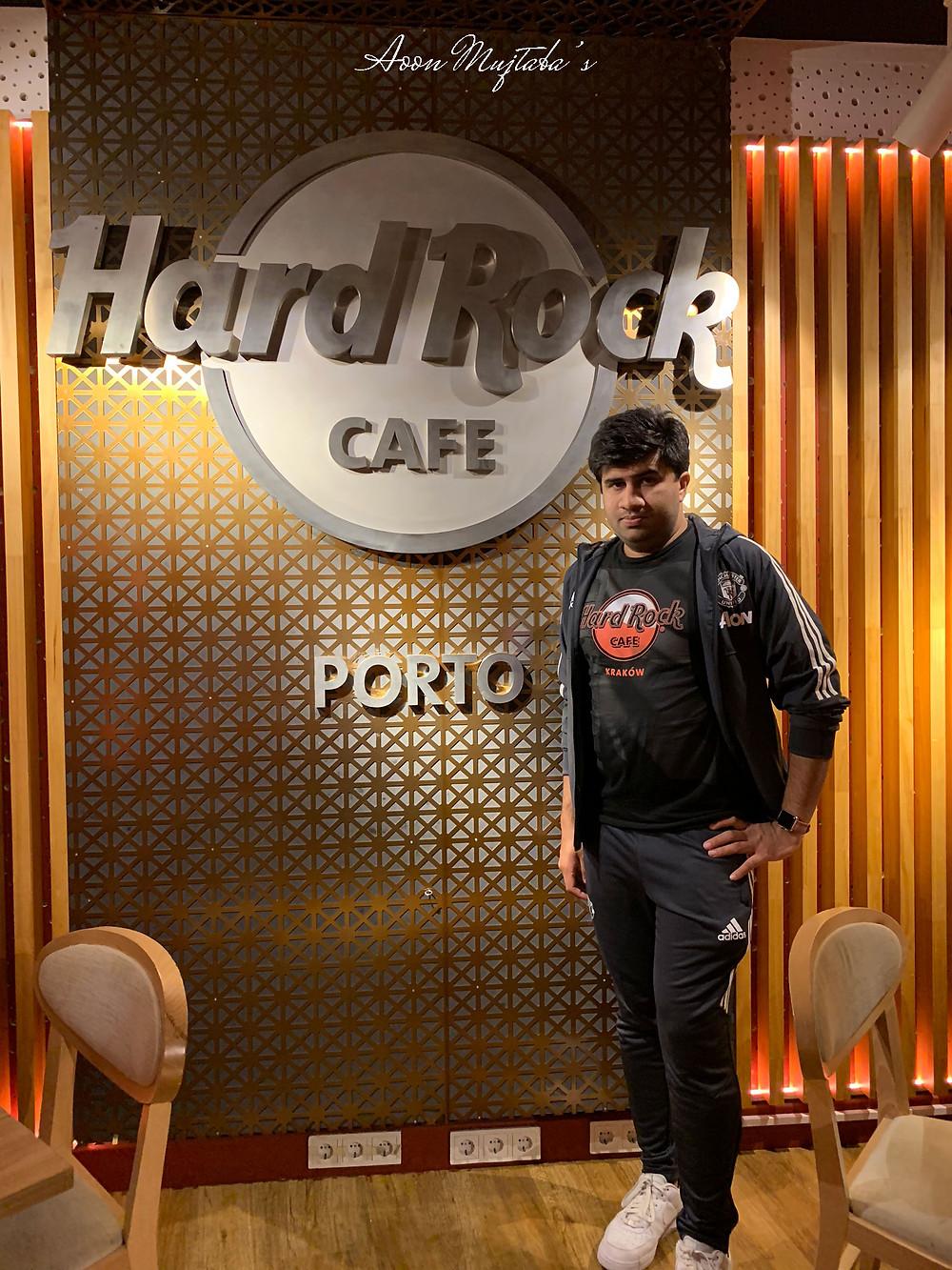Hard Rock Cafe in Porto, Portugal