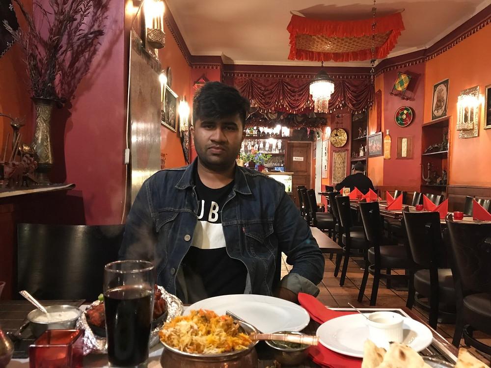 Royal Punjab Restaurant in Cologne, Germany