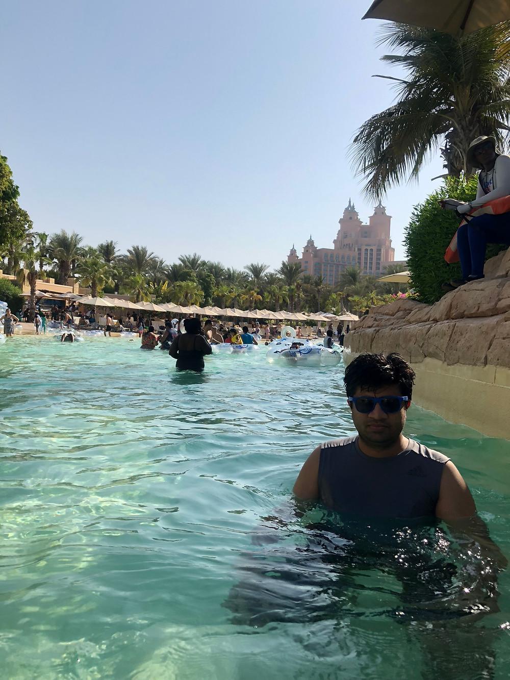 Aqua Adventure Park in Atlantis The Palm, Dubai