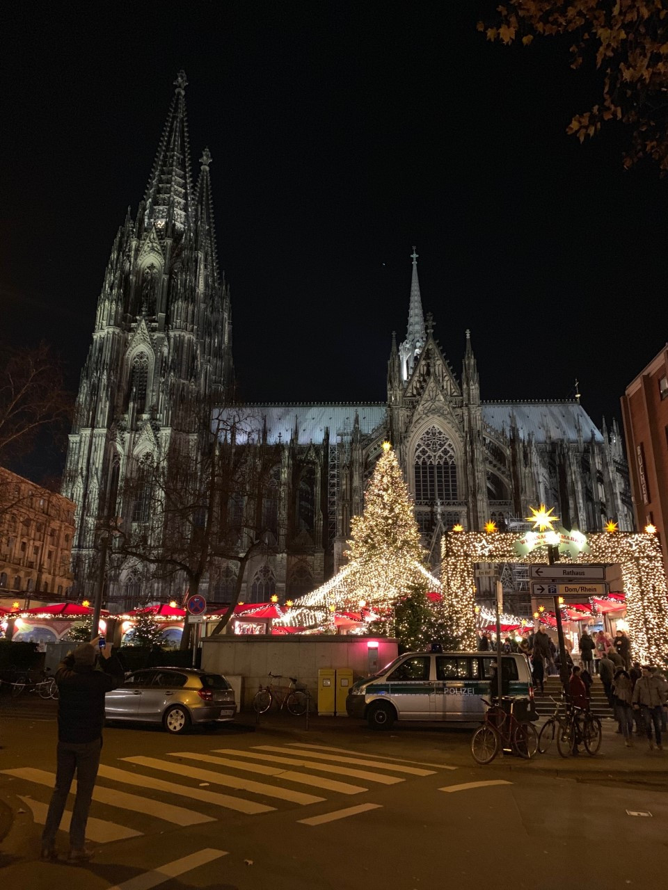 Chrismats Market in Cologne, Germany