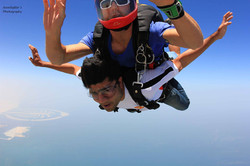 Sky Diving in Dubai