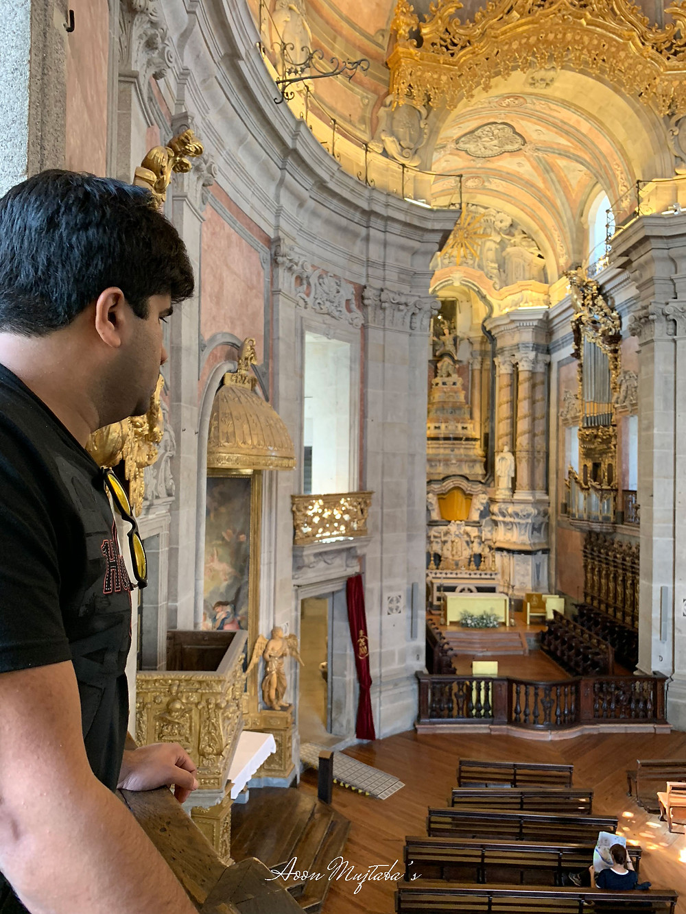 Igreja dos Clérigosin Porto, Portugal