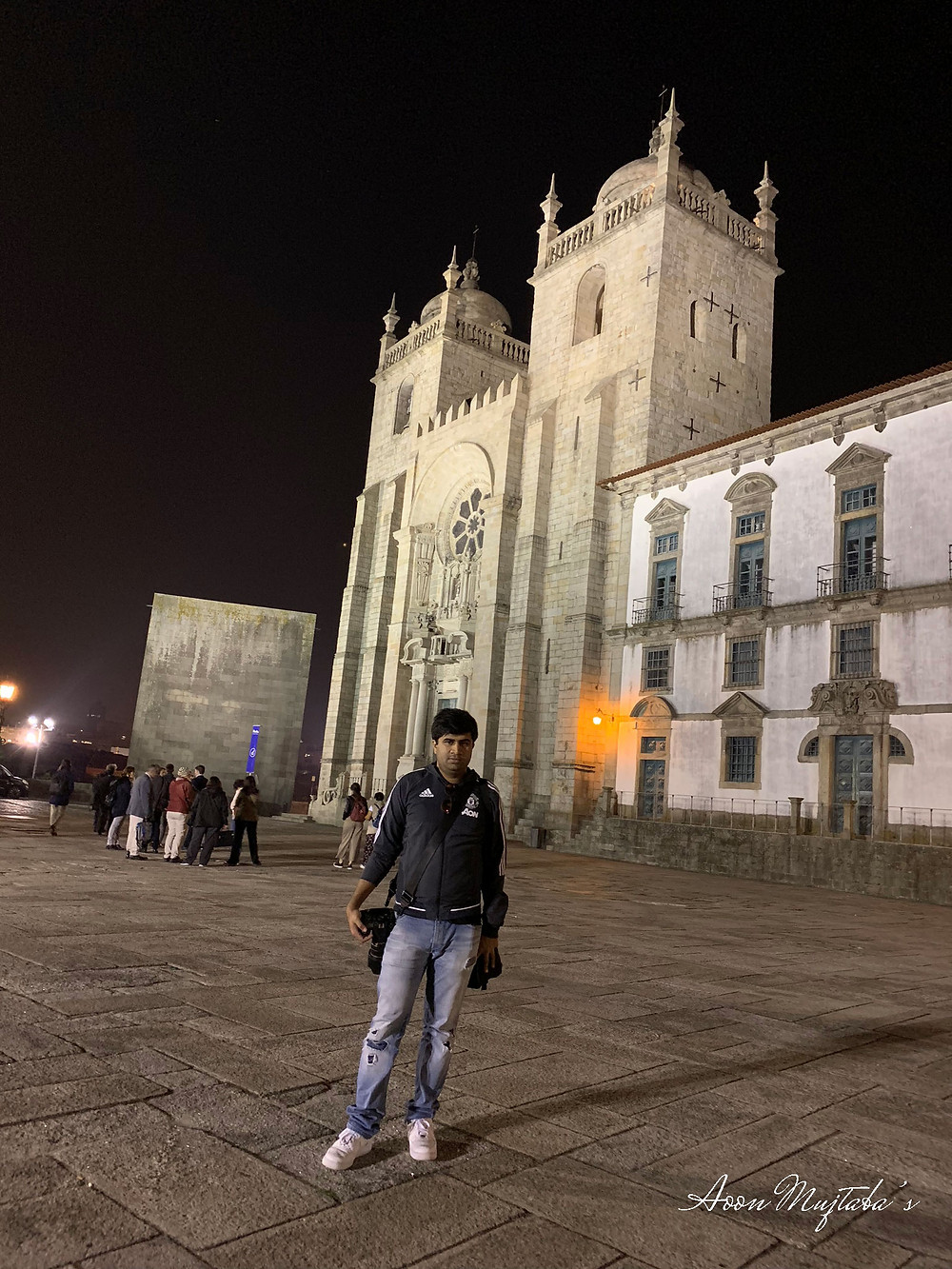 Porto Cathedral at Night