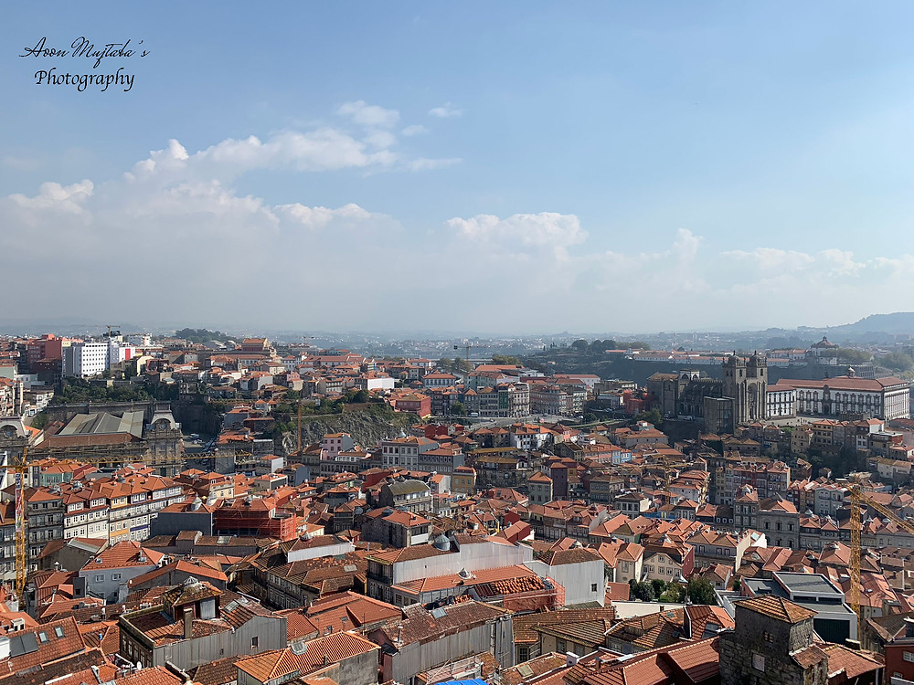 Panoramic View of Porto, Portugal