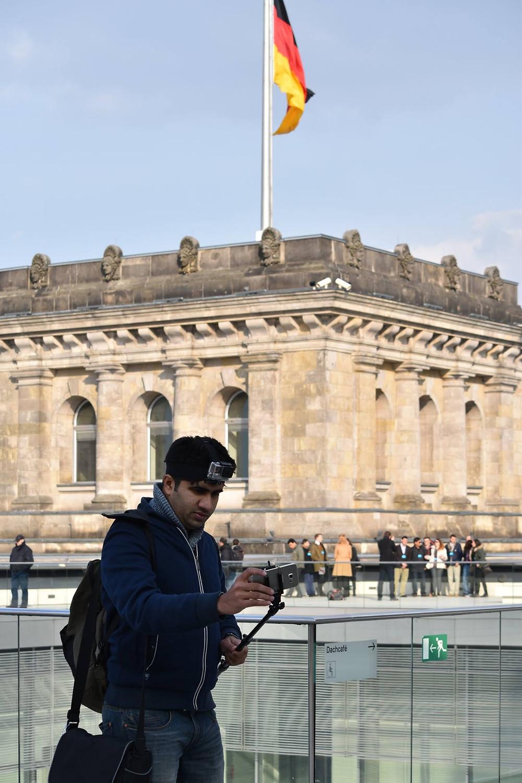 Rooftop of German Parliament
